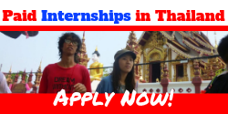 Paid Internships in Thailand