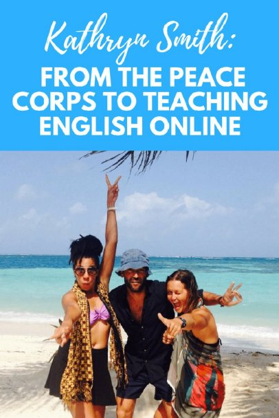 Teaching English online and other jobs abroad