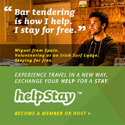 HelpStay Volunteer Work Exchanges
