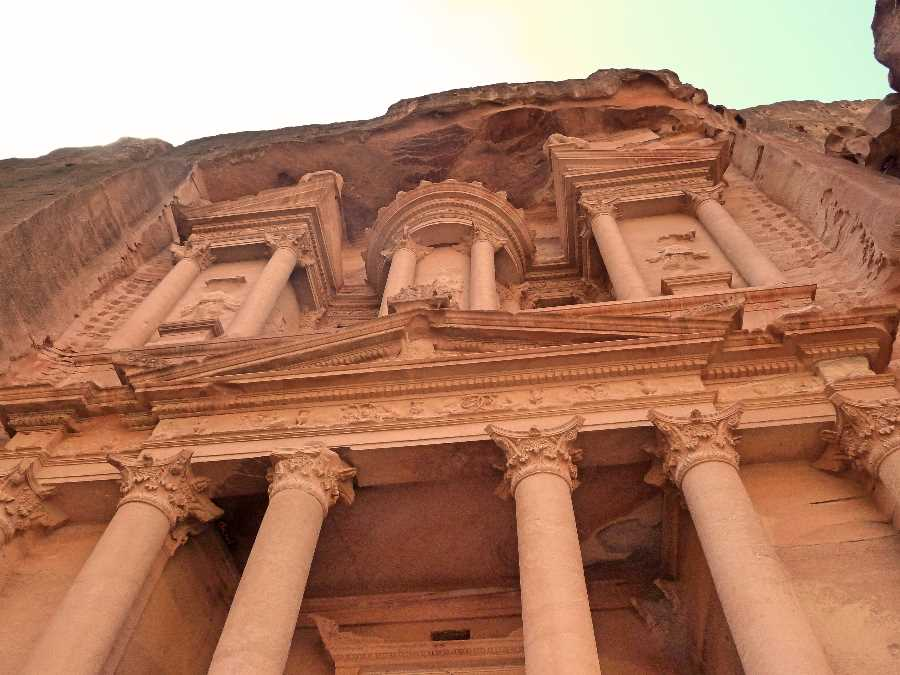 The Treasury is the most iconic sight of a visit to Petra