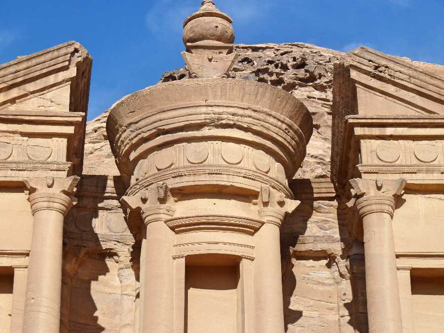 Petra Monastery close up