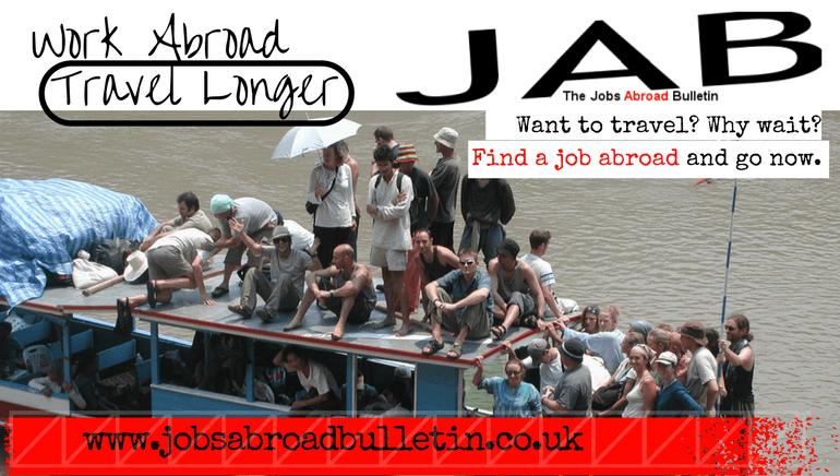 Jobs Abroad Bulletin