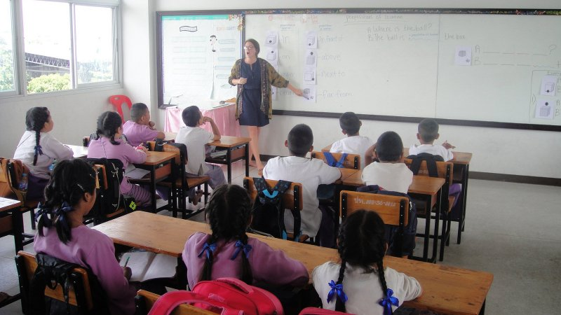 Teaching Internship in Thailand