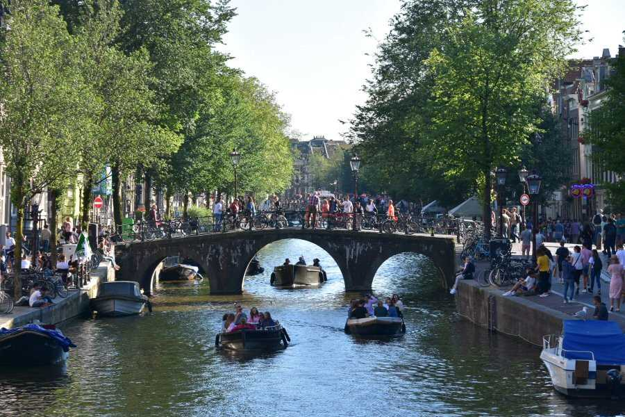 Amsterdam is a perfect place to live if you like to travel