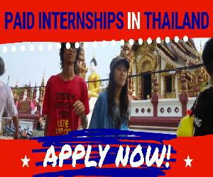 Paid Teaching Internships in Thailand