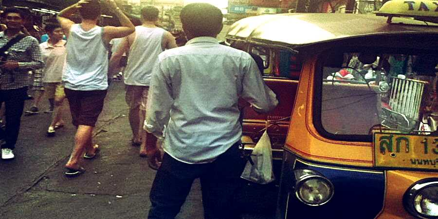 Tuk Tuk on the Khao San Road