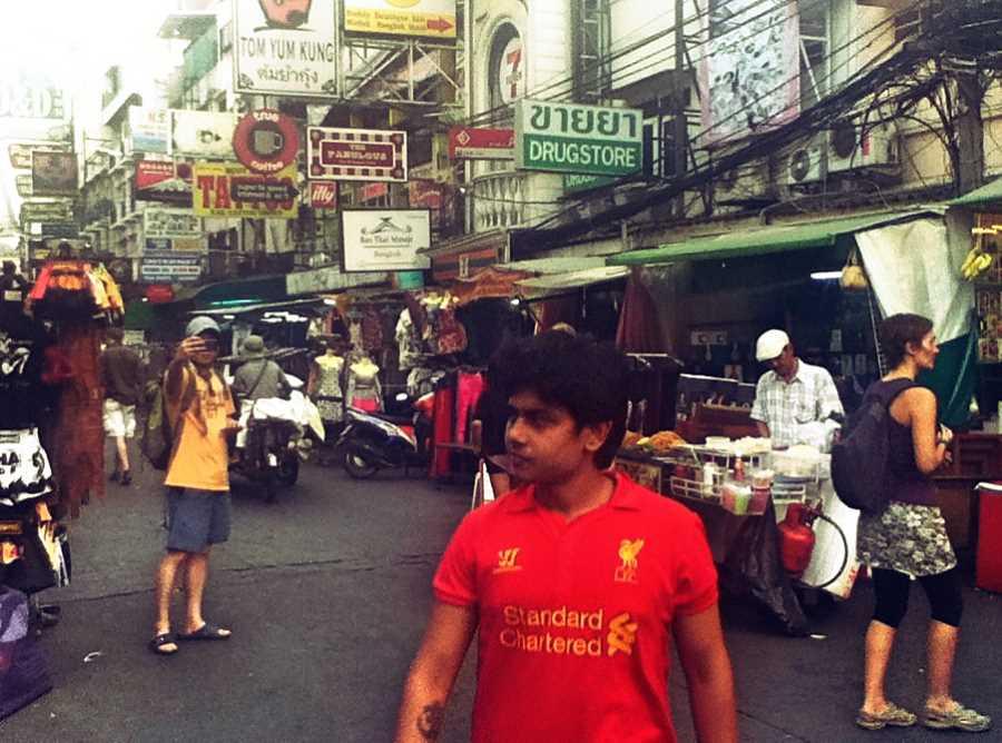 Khao San Road backpacker ghetto