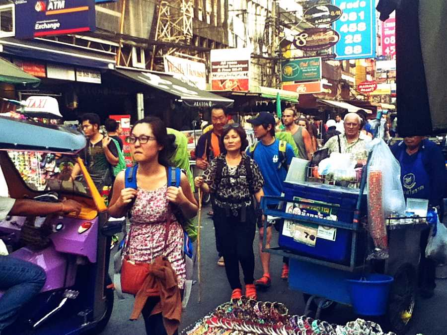 Leaving the Khao San Road to travel Thailand