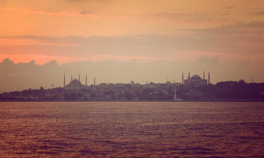 Nightlife in Istanbul, Turkey