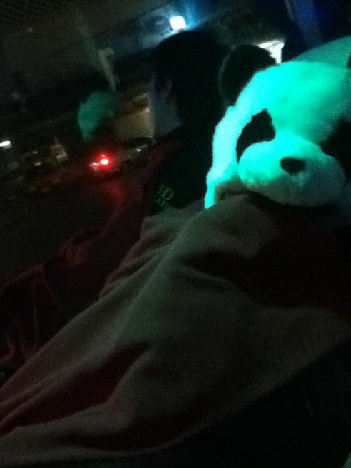 A good night's sleep on a long bus journey