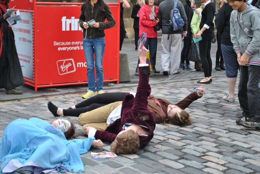 Volunteer at the Edinburgh Fringe and other festivals in the city